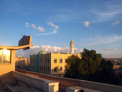 Oriental Hotel & mosque, Hargeisa