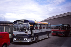 Highland T69 Inverness (Guy Arab UF) Tags: bus ford buses group scottish highland 1973 busstation willowbrook inverness omnibuses t69 r1014 ust869l