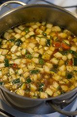 Kikerhernesupi tegemine / Making of chickpea soup
