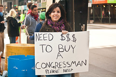 Need Money (The Cleveland Kid) Tags: usa chicago 1 illinois unitedstates protest 99 wallstreet protesting protesters cardboardsigns occupychicago