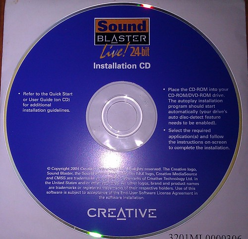 Sound blaster live ct4780 windows 7
