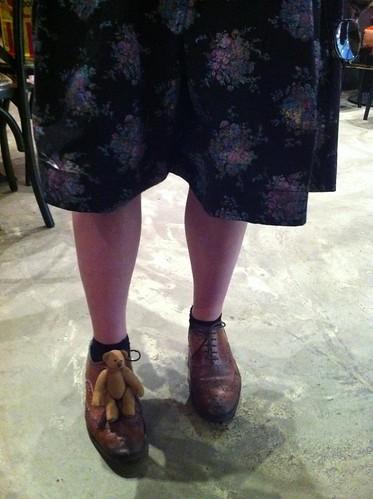 Familiar Shoes!!!! by borromini bear