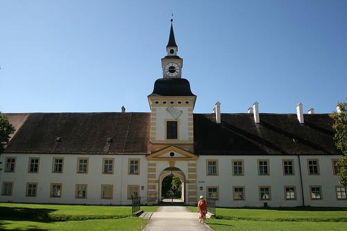 Uhrenturm Alter Schloß Oberschleißheim