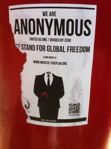 Anonymous reaches Tunbridge Wells.