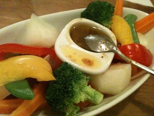 温野菜サラダ@エリック
