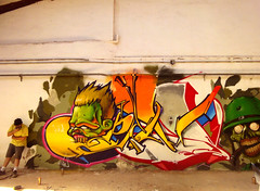 PALMS   GM (SRCARAMELOS) Tags: new inca palms friend secret 11 spot september graff eds mate bombs exchange nuevo edsoldiers