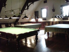 Snooker rooom