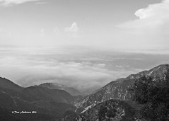 Valleyscape Old School (f4fwildcat...Tom Andrews Photography) Tags: california bw stars observatory mountians valleys sangabrielmountains mtwilson f4fwildcat canoneos50d 100inchtelescope tomandrewsphotography
