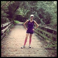 18 mile run