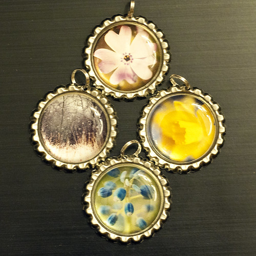 bottlecap pendants - 1 by The Shutterbug Eye™