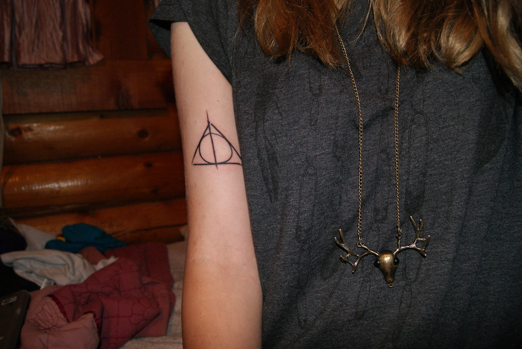 The World's newest photos of deathlyhallows and tattoo