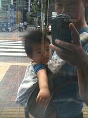 朝散歩とらちゃん(2011/9/12)