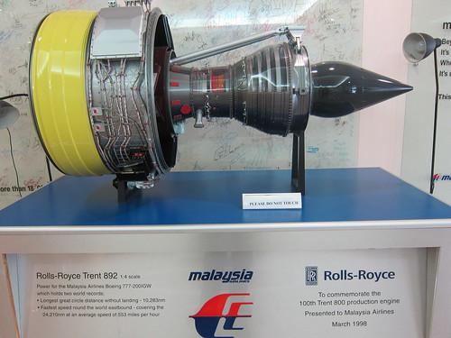 Rolls-Royce Trent 892 by wanhashim