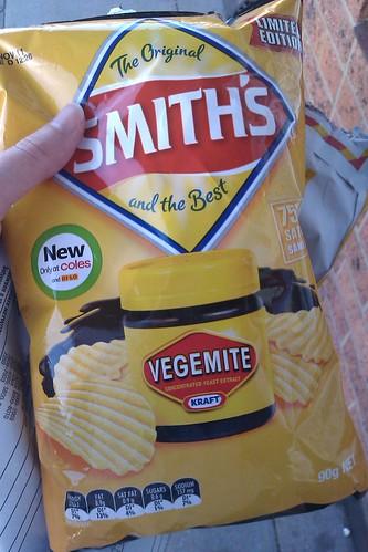 Vegemite chips
