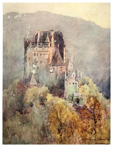 014-Castillo de Eltz-Germany-1912- Edward y Theodore Compton ilustradores