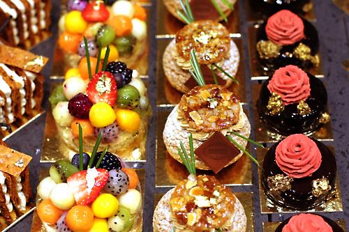 Café Pouchkine cakes