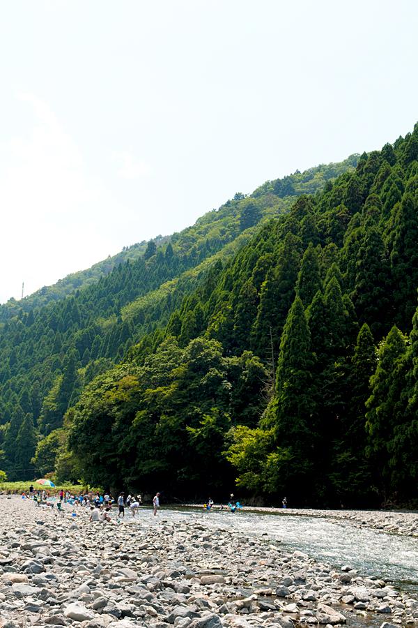 川遊び|滋賀県高島市朽木