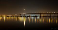 Coronado Bay Bridge (Christian Ronnel) Tags: longexposure bridge urban skyline night landscape cityscape nightshot sandiego thechallengefactory canoneos60d sigma1750mmf28exdcos