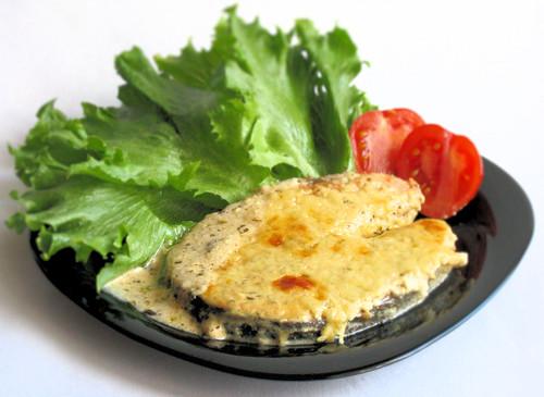 Стейки из лосося с сыром рецепт