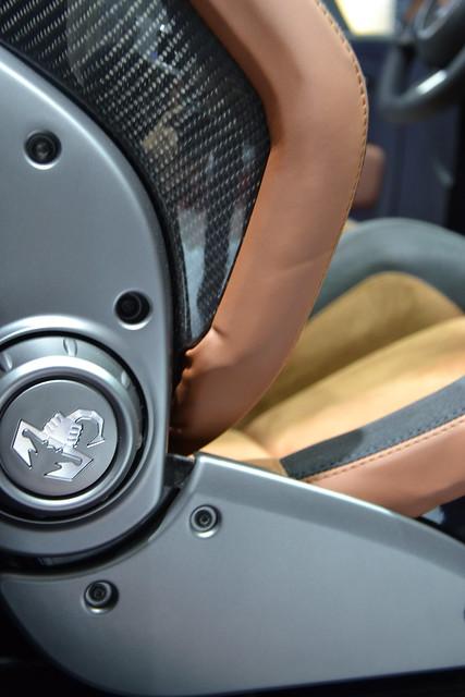 Abarth 500 Cabrio Italia @ Frankfurt 2011