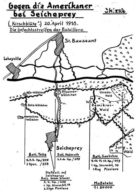 RIR 259 Seicheprey sketch II