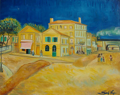 "Vincent van Gogh's ""Yellow House"" (of Arles) • <a style=""font-size:0.8em;"" href=""https://www.flickr.com/photos/78624443@N00/6153471852/"" target=""_blank"">View on Flickr</a>"