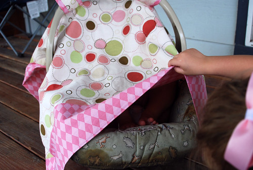 Grace's Car Seat Cover