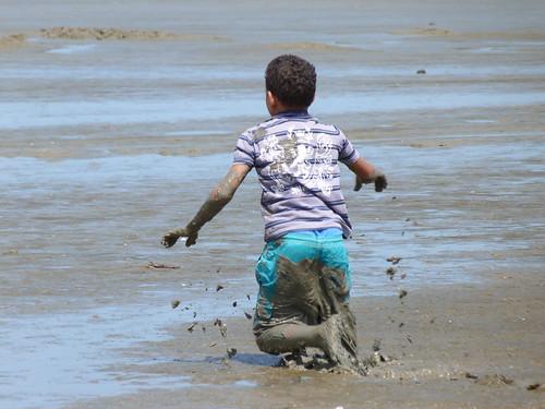 Sepetiba - Carlos Minc inaugura trecho de areia em obra de recuperação ambiental - Foto Saulo Valley