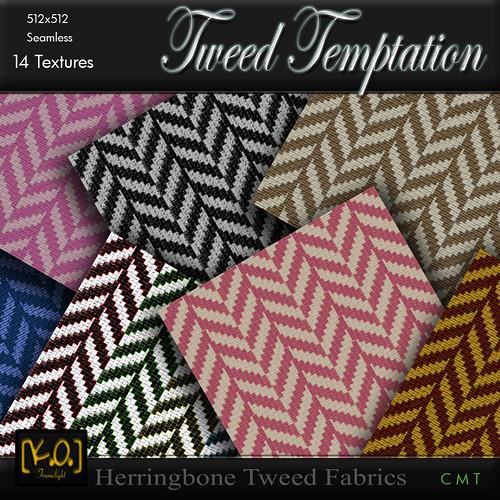 [K.O.] - Tweed Temptation - 14 Fabrics by Khan Omizu