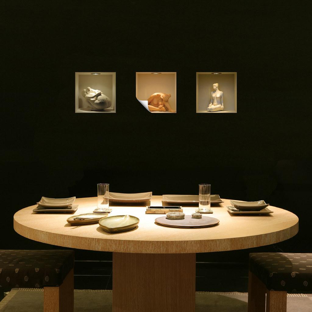 Nisha dining room design