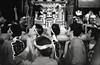Carrying the mikoshi, Akasaka matsuri (View Master 187) Tags: camera japan start tokyo soviet rodinal russian matsuri akasaka fujineopan400 ctapt