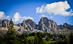 Dolomiti (Carini Stefano) Tags: blue trees sky italy mountains church nature clouds canon photo spring scenery village forrest may 2008 picnik dolomiti sappada rebelxti ringexcellence stcphoto stefanoinseidaho