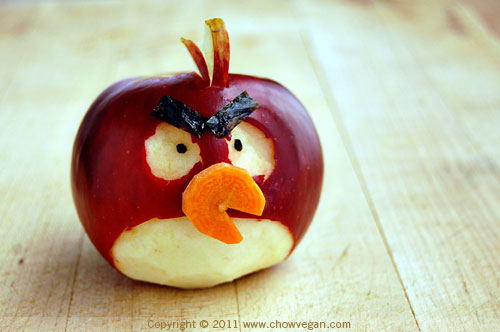 An Angry Bird Apple A Day