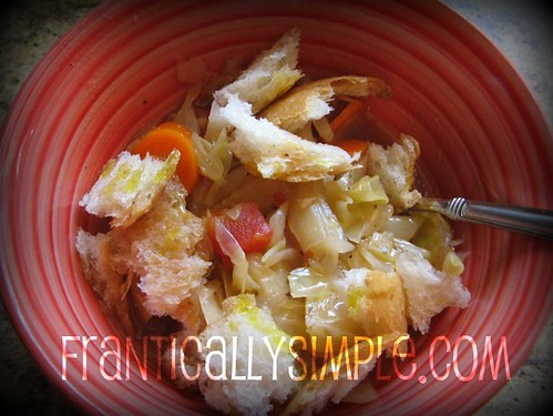 Cold Fighting Cabbage Soup (Vegan)
