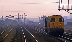 Twenties at Dusk (SydPix) Tags: diesel trains locomotive railways freight 20046 semaphores 20098 class20 barnetby wrawby sydyoung