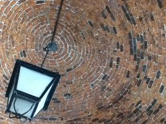 brickwork ceiling (ninelivestogo) Tags: brick ipod manila intramuros ipodphoto aseangardens