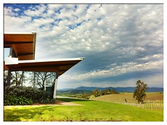 Architecture Balgownie Estate (BattysGambit) Tags: birthday apple composite architecture vineyard estate contemporary australia victoria yarravalley hdr hdri balgownie 2011 appleiphone iphone4