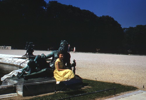 Mom At Versailles