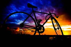 [Lolana] (funkyruru) Tags: sunset bike 28mm fixedgear ricoh a12  postprocessing  gxr njs  nagasawa  lolana  d e e m