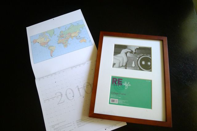 Frame and Calendar