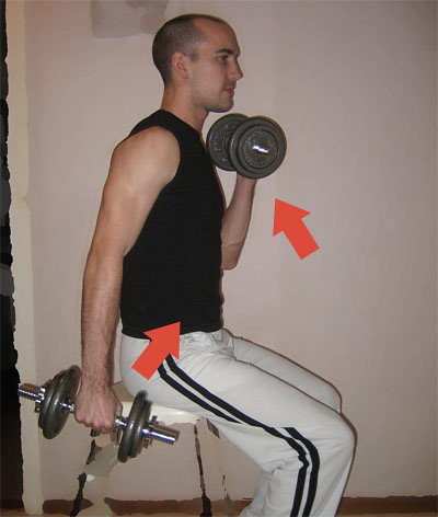 Dumbbell Curl (Hantelcurls), Strength Training (Styrketräning)