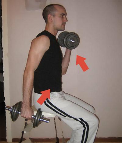 Dumbbell Curl (Hantelcurls), Strength Training (Styrketräning)
