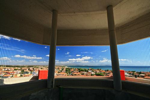Panorama dalla gabbia