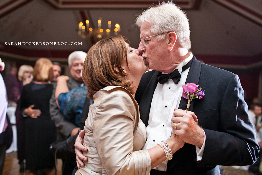 St Joseph Country Club wedding reception photos