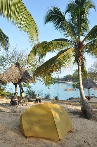 Beach camp Zanzibar