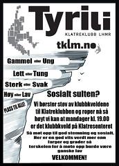 Klubbkveld plakat