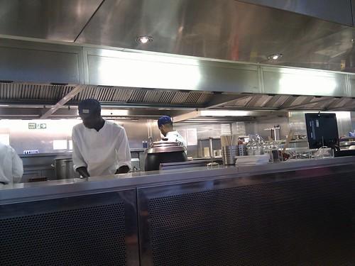 Londres | Wagamama | Cocina