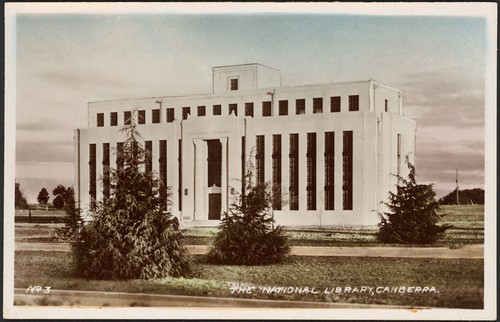 The National Library, Canberra, [1930s]