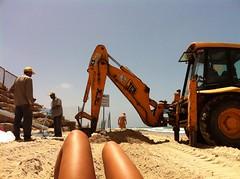 065 (loopodeloop) Tags: girls sexy feet beach foot toes legs bikini topless swimsuit