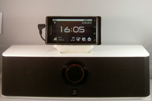 iPod dock adapter for Motorola Droid/Milestone